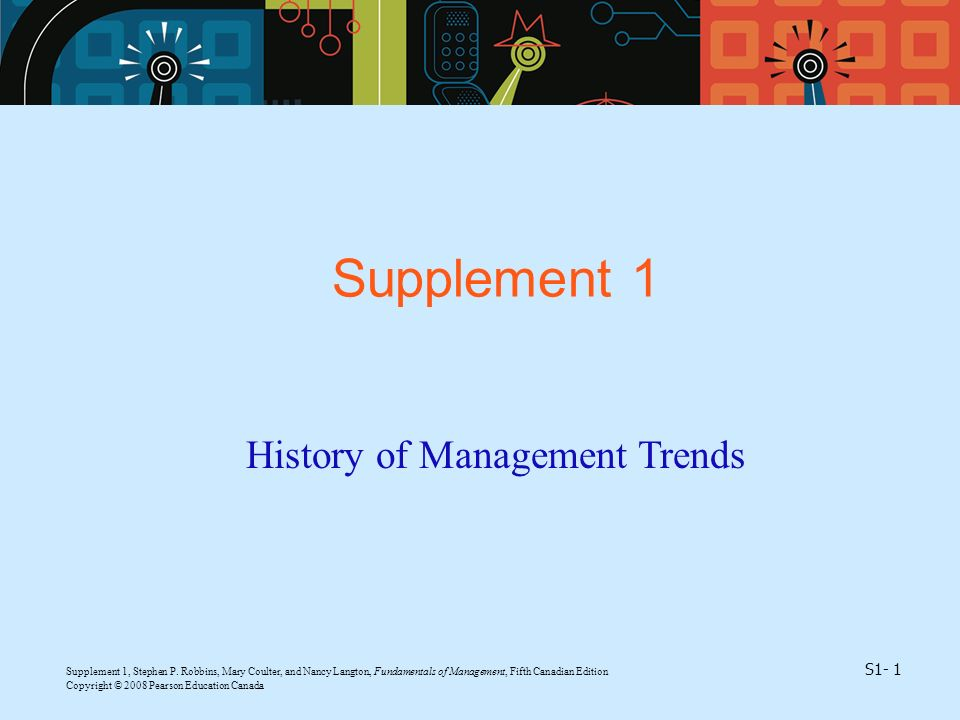 History of Management Trends