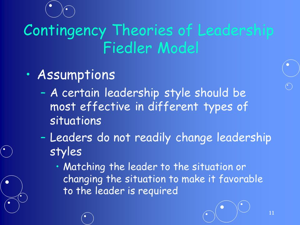 path goal theories situational factors and leader style management essay Why study situational approaches to leadership essay a  appropriate leadership styles path-goal theory is built on two concepts – the ohio state leadership .