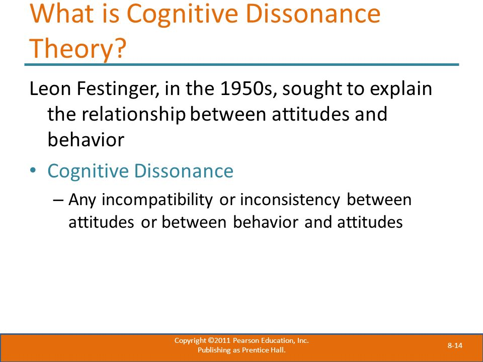 What is Cognitive Dissonance Theory
