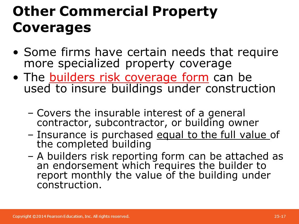 Chapter 13 Commercial Property Insurance Ppt Video
