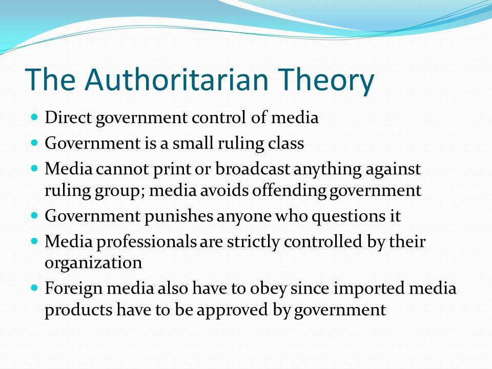 should the media be controlled by the government They've passed a law which effectively censors the entire world's media and the british government has decided to morph into more direct control.