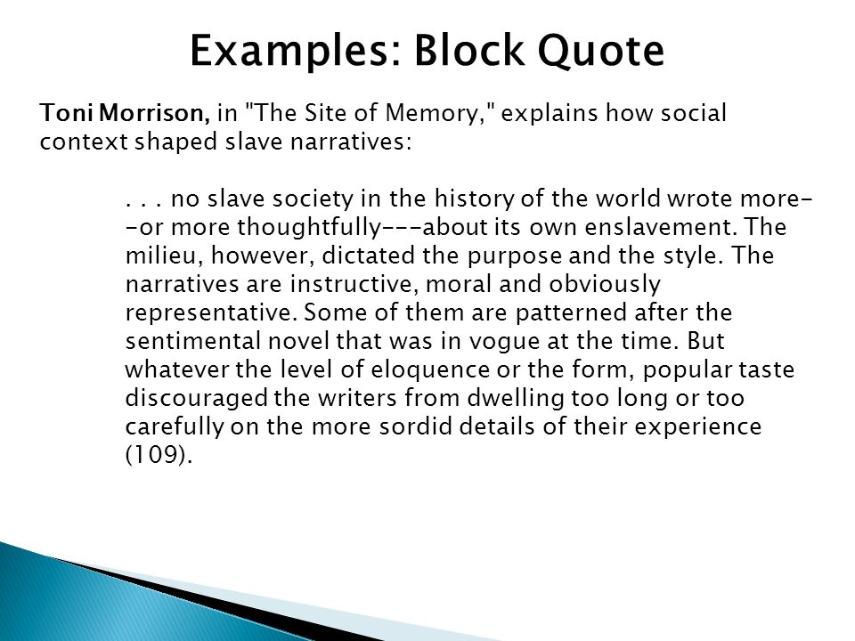 toni morrison the site of memory essay Sign up to view the rest of the essay read the full essay more essays like this: african americans, toni morrison, black matters not sure what i'd do without @kibin.