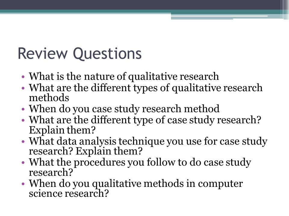 case study qualitative research Qualitative case study to answer the research questions that frame this study the purpose of this qualitative case study is to understand administrators.