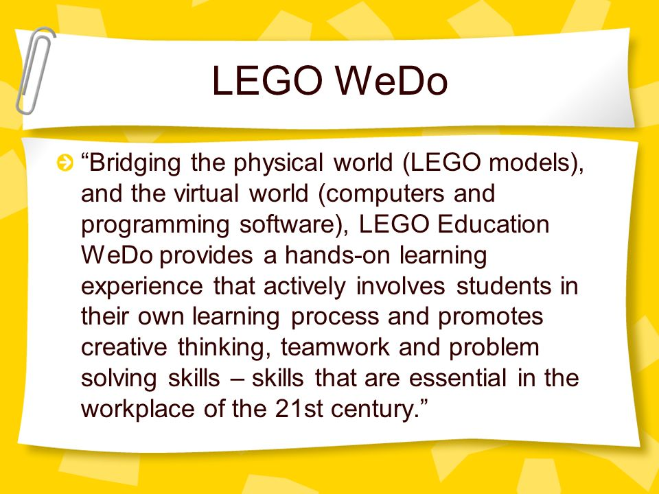 STEM: LEGO Robotics Amy Colman, GT Resource Teacher - ppt download