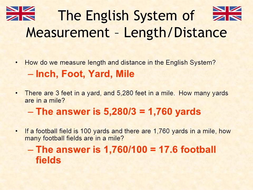 Measurement and Estimation Length / Distance - ppt download