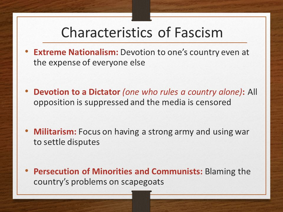 is fascism a form of nationalism The rise of fascism in italy  fascism is a form of radical authoritarian nationalism that came to prominence in early 20th-century europe.