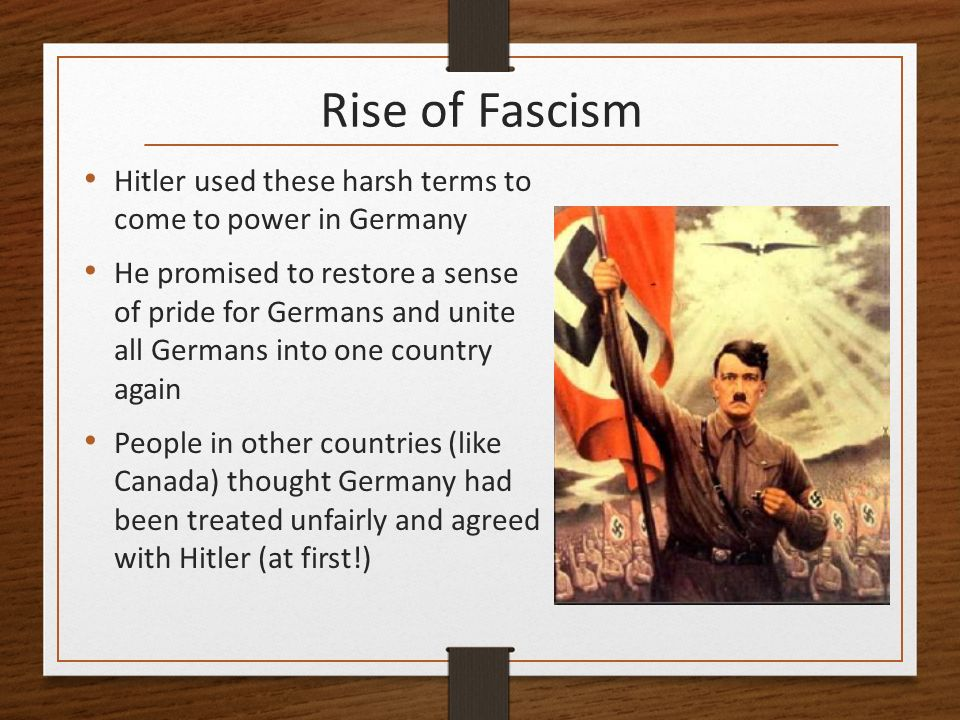 the rise of fascism in nazi The return of fascism  in part, the rise of far-right nationalism is a reaction to the european union,  from the golden dawn in greece to neo-nazis in ukraine.