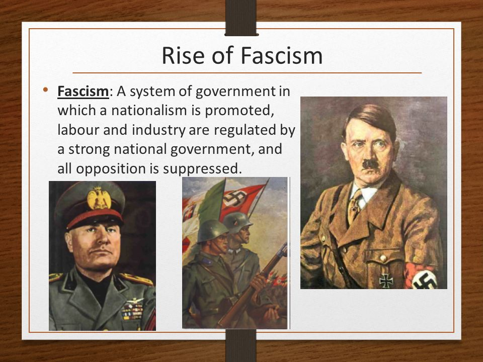 rise of fascism in germany essay