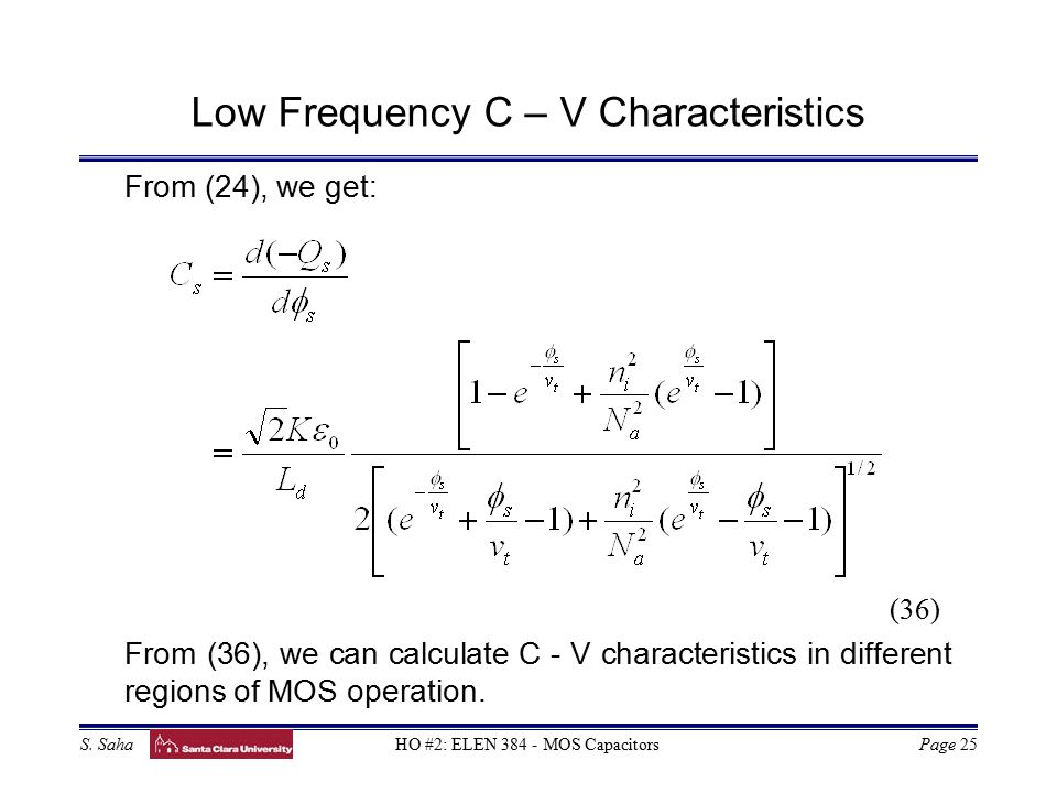 Basic Equations for Device Operation - ppt video online ...
