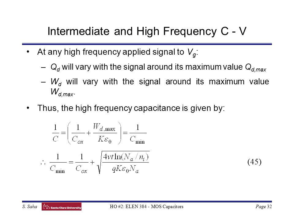 Intermediate frequency