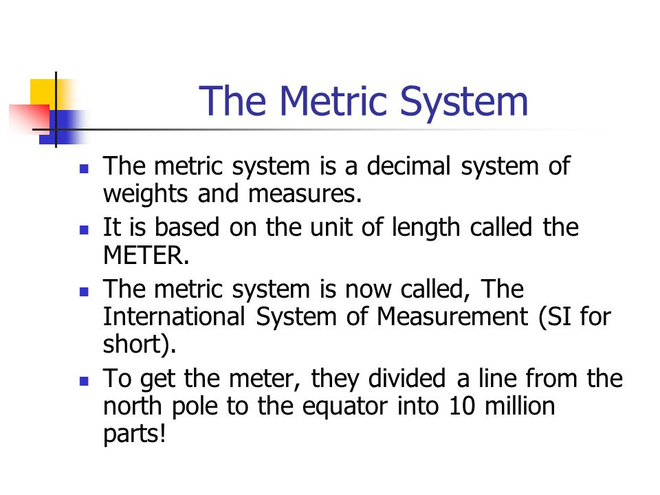 international system of units and decimal Units and prefixes the international system of units consists of a set of base units, derived units, and a set of decimal-based multipliers that are used as prefixes: 103-106 the units, excluding prefixed units, form a coherent system of units, which is based on a system of quantities in such a way that the equations between the numerical values expressed in coherent units have exactly the.