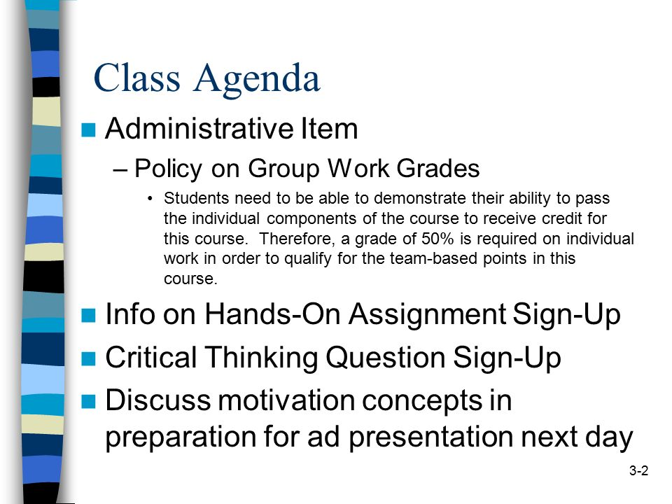 A Sample Assignment Format