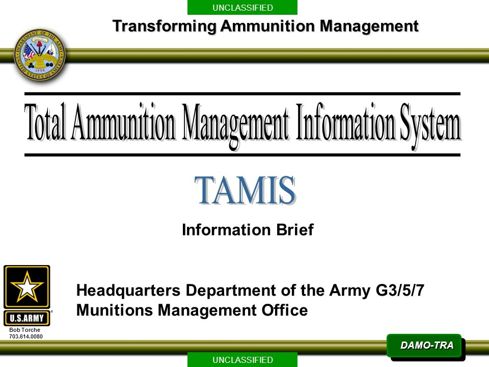 Tamis transforming ammunition management information brief ppt tamis transforming ammunition management information brief maxwellsz
