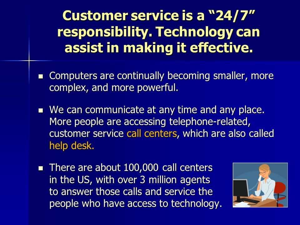 Chapter 9 Customer Service Via Technology - ppt download