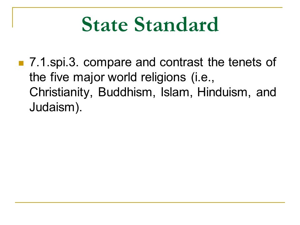 Buddhism, Hinduism, and Jainism