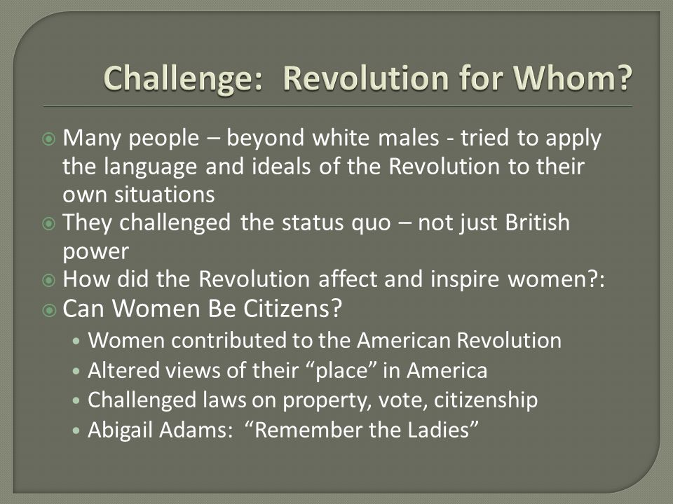how did the democratic ideals inspired the american revolution It is interesting to recall these days that, in the middle of the 20th century, both us liberals as well as conservatives were atlanticists as a matter of fact, the post-war conservative movement of william f buckley, jr united americans and european intellectuals and politicians in a sophisticated critique of the transatlantic.