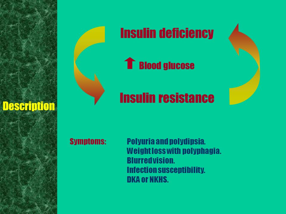 description of diabetes Type 2 diabetes is a progressive condition in which the body becomes resistant to the normal effects of insulin and/or gradually loses the capacity to produce enough.