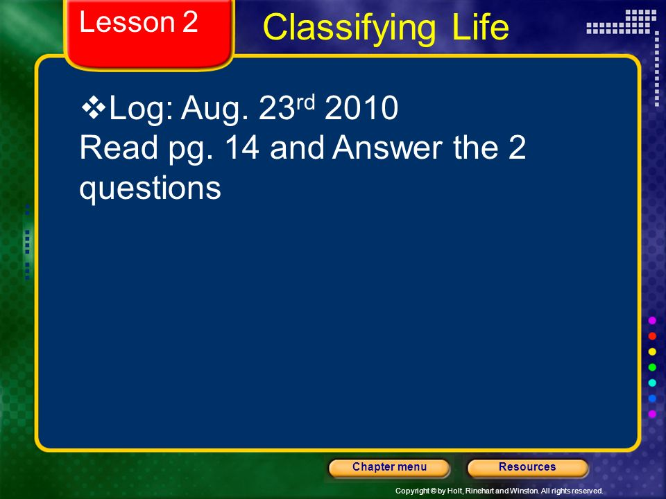Classifying Life Log: Aug. 23rd 2010