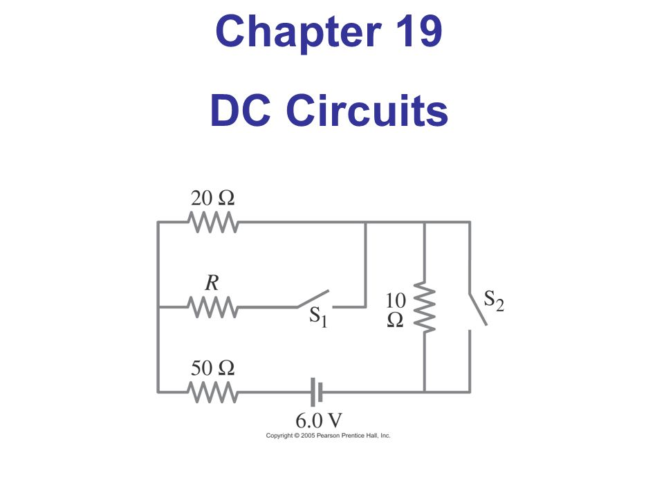 Chapter 19 DC Circuits  - ppt video online download