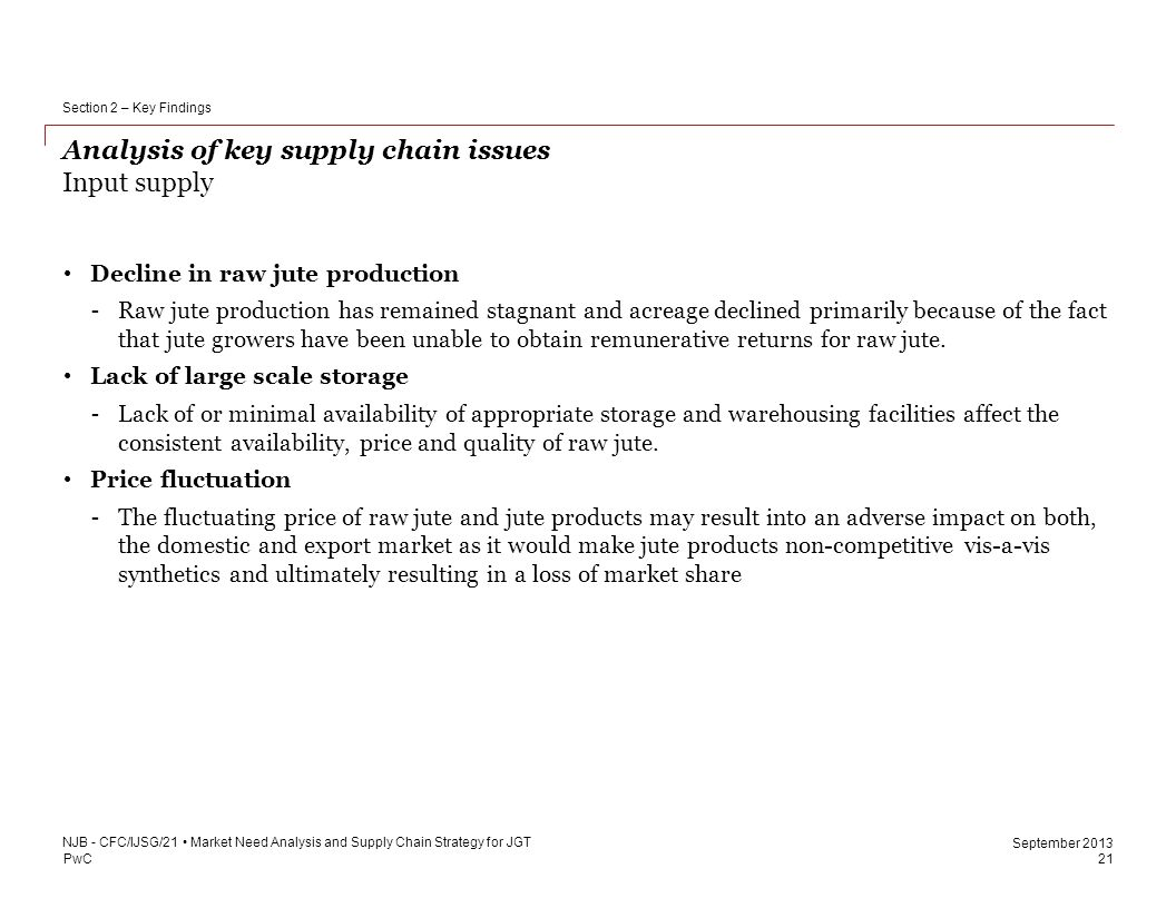 key supply chain issues A kane research study key supply chain challenges of mid-sized cpg companies survey of 110 cpg logistics executives explores supplier/retailer relationships.