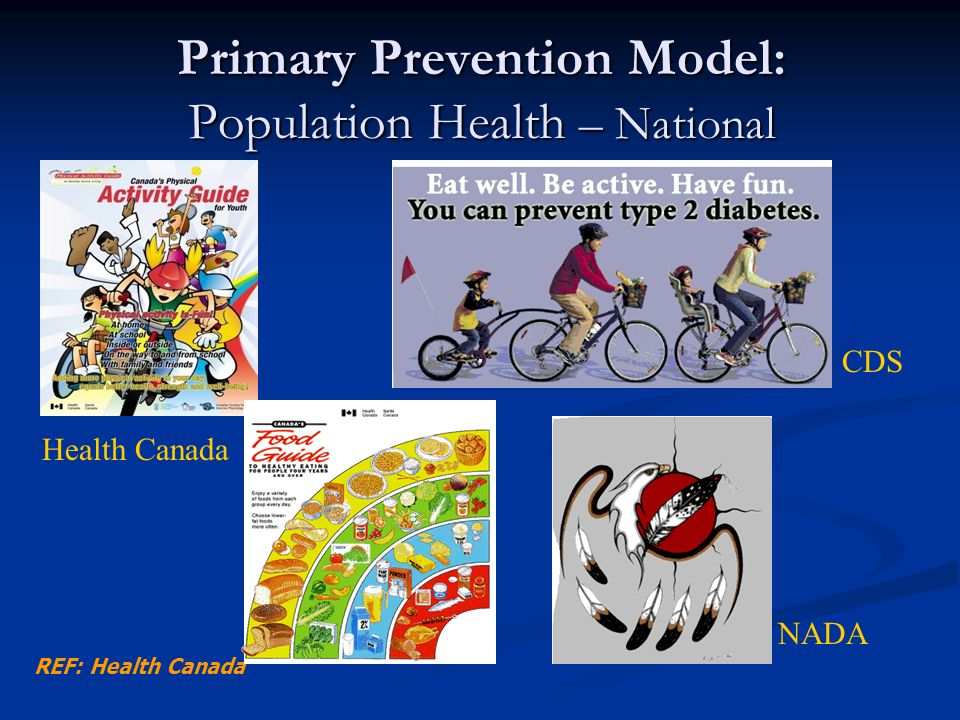Primary Prevention Model: Population Health – National
