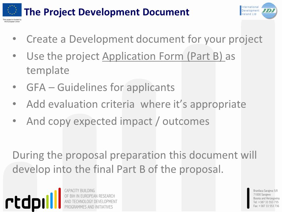 self-evaluation of project concepts for application in horizon ppt, Presentation templates