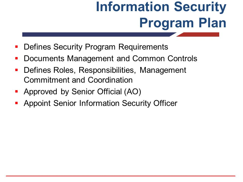 organizational security plan Note to agencies – this security plan template was created to align with the iso 27002:2005 standard  organization of information security.