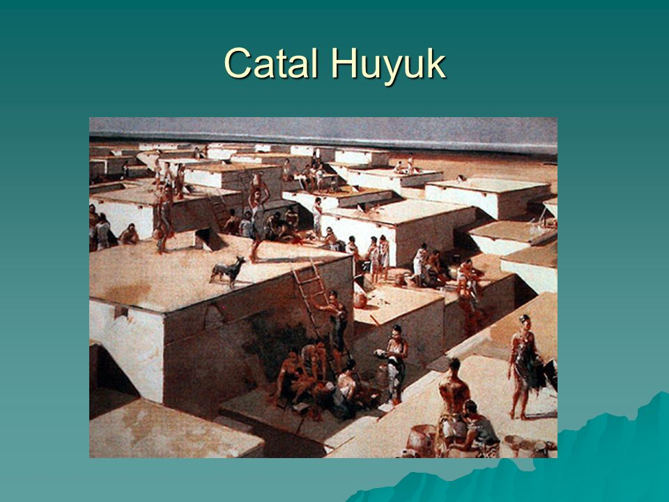 an analysis of catal huyuk in communitys economy