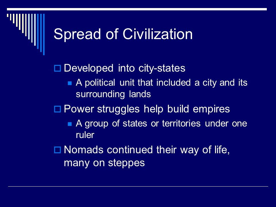 Spread of Civilization