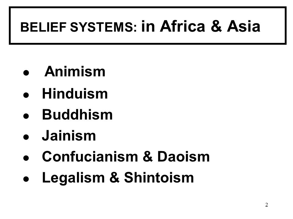 global essay on belief systems