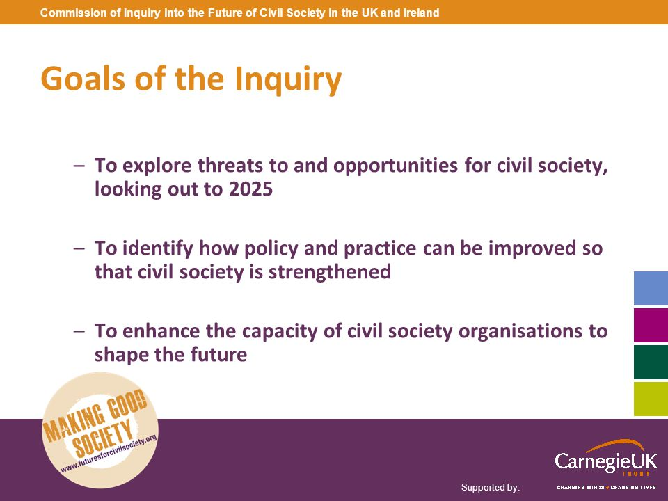 Commission of Inquiry into the Future of Civil Society in the UK and Ireland