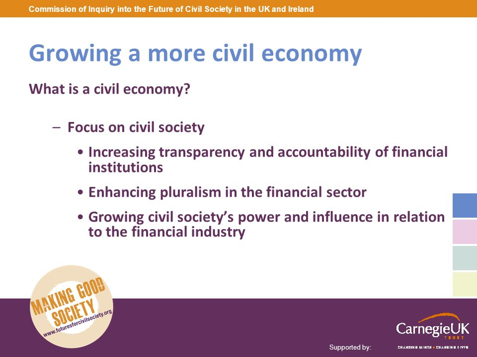 Growing a more civil economy