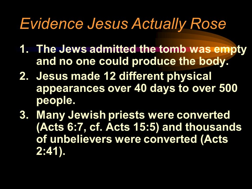 the three points on jesus as the only way So the doctrine of the trinity only attempts to provide a some theologians point out that only the son and the jesus said only that the.