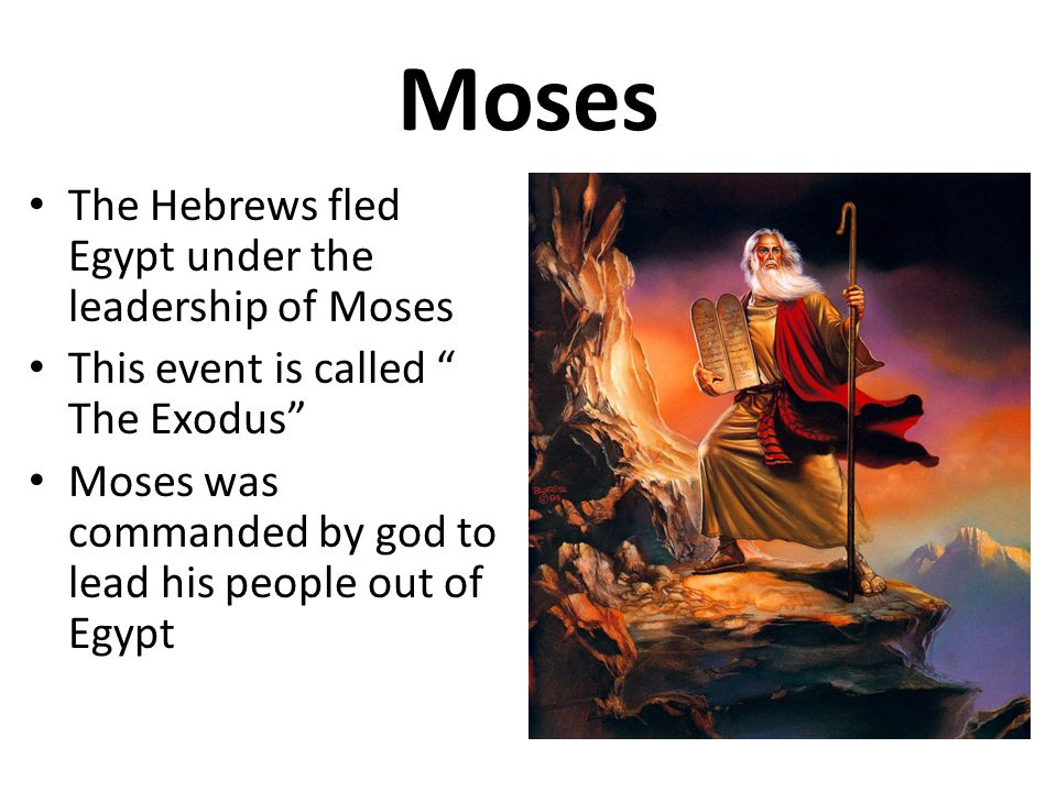 an analysis of the ten commandments of god to moses