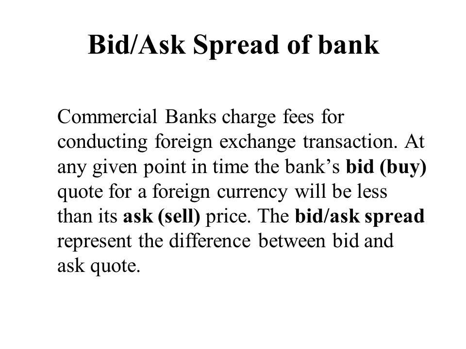 Bid ask currency