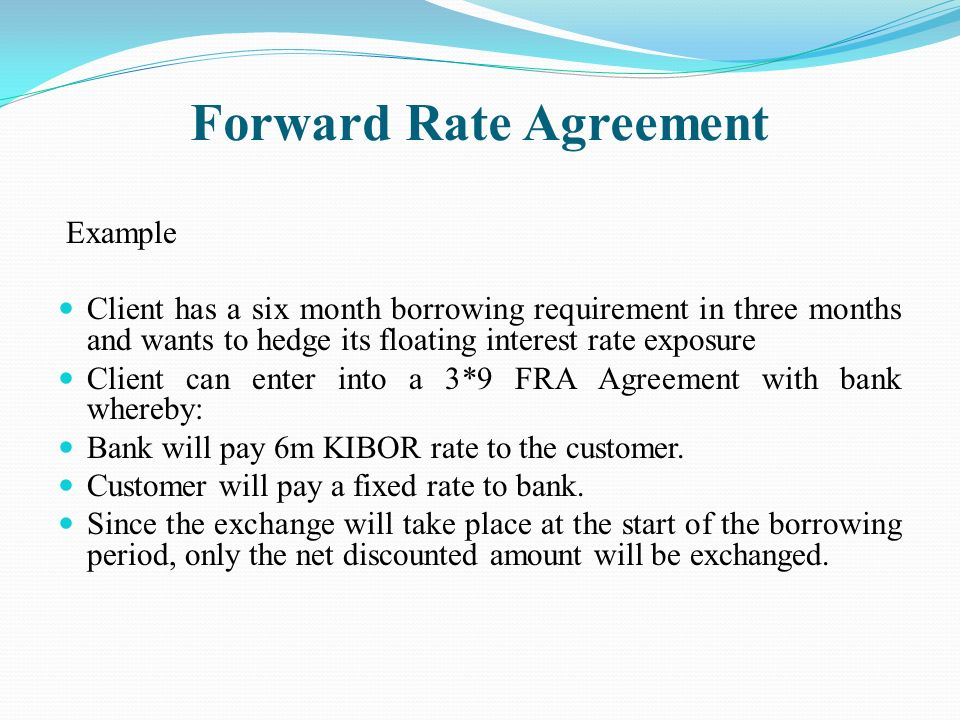 Forward Rate Agreement Related Keywords Suggestions Forward Rate