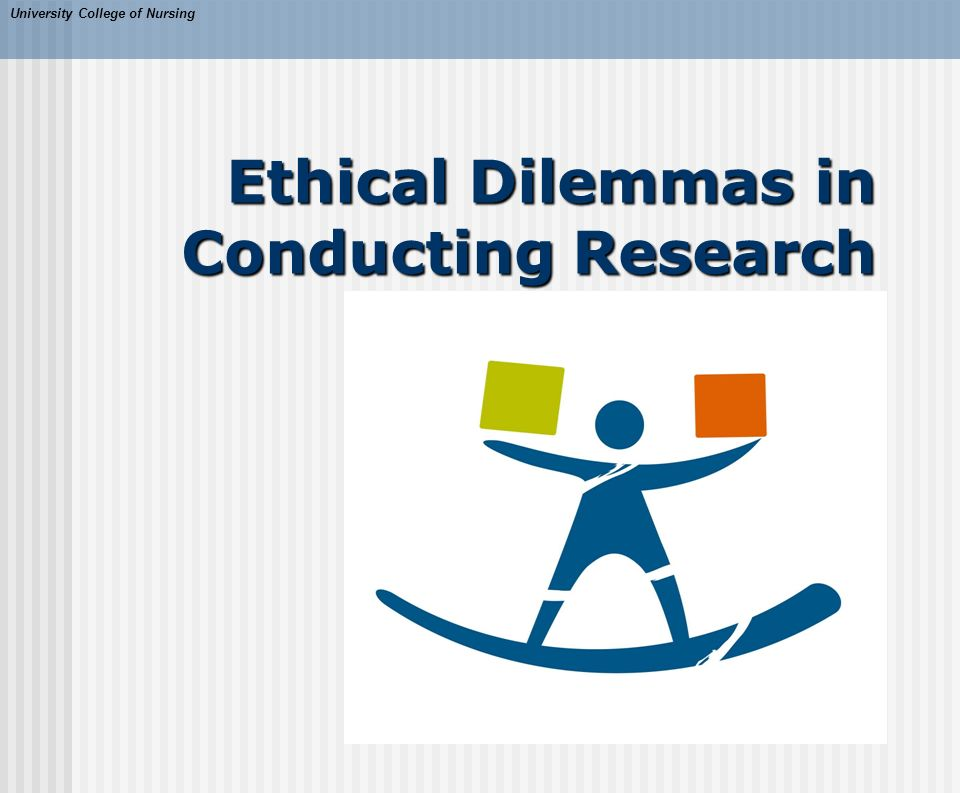 research ethics and ethical dilemma Ethical issues of human genetic databases: a challenge to classical research  ethics (bernice elger) 25th january 2013, volume 126 number 1368 christine .
