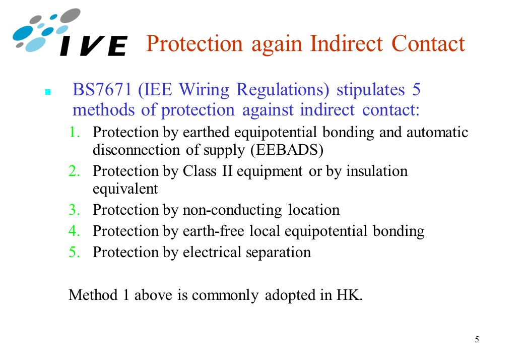 Protection against electric shock note all the mentioned tables in 5 protection again indirect contact bs7671 iee wiring regulations keyboard keysfo Choice Image