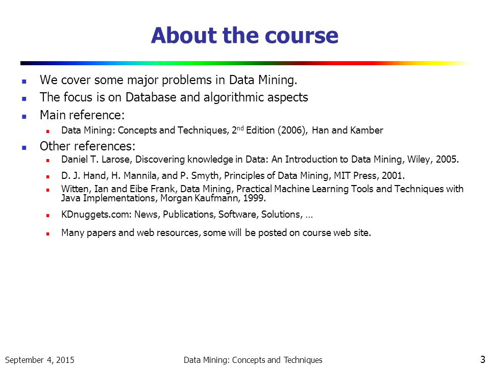 data mining techniques essay Data mining essay artificial intelligence techniques, neural networks, and advanced statistical methods are used in data mining to identify hidden trends.