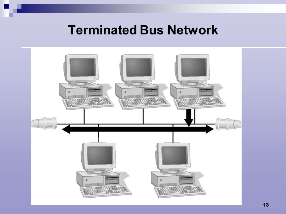 Terminated Bus Network