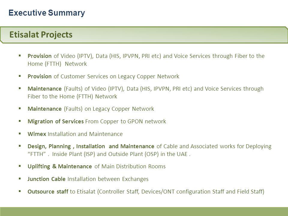 Etisalat & du Services Partner شريك Ø Ø¯Ù…Ø§Øª لـــ إتصالات به ppt