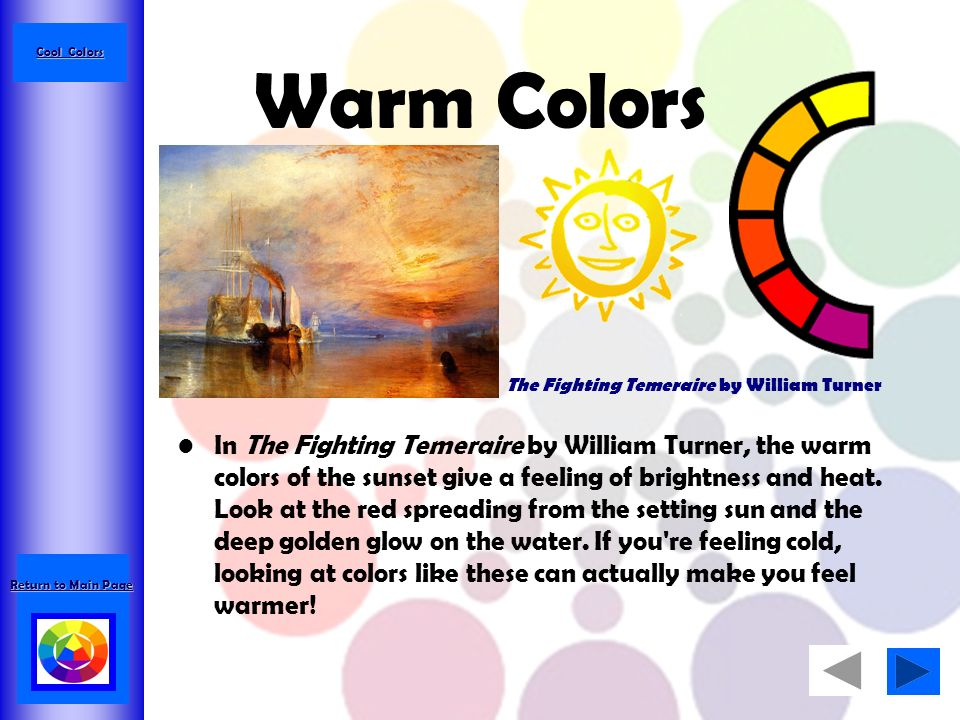 An introduction to the color wheel and color theory ppt for Colors make you feel