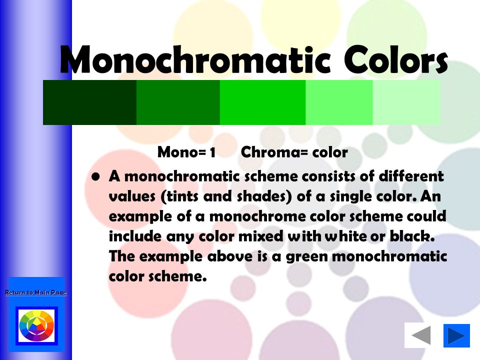 Monochromatic Color Scheme Definition an introduction to the color wheel and color theory - ppt video