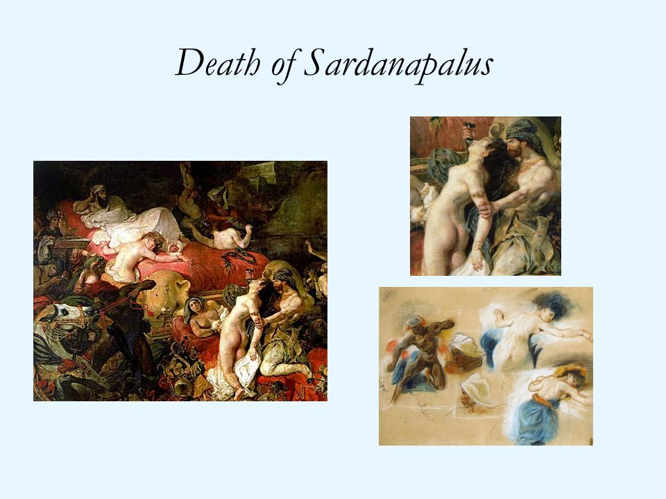 Death of Sardanapalus