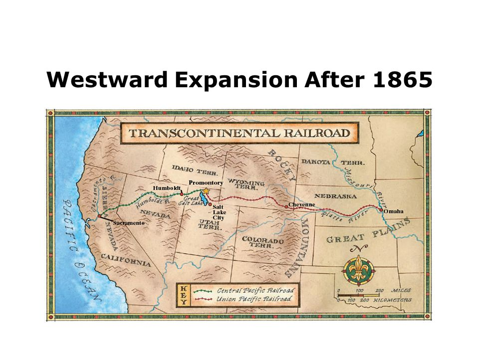 Transcontinental Railroad & Expansion in the United States