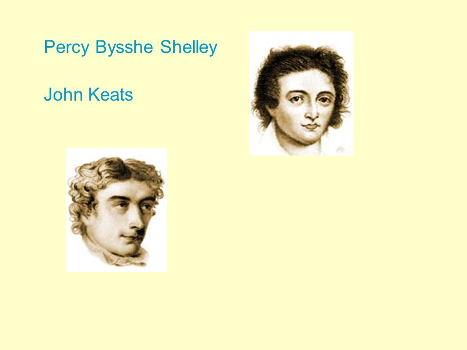 "john keats and percy bysshe shelley Free essay: john keats' to autumn and percy bysshe shelley's ode to the west wind even though both john keats's ""to autumn"" and percy bysshe shelley's."