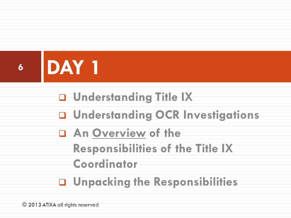 title ix tactics Beneath the title of each case summary below are links that connect to lists of similar cases sorted by topic areas relevant to each case by  including title ix.