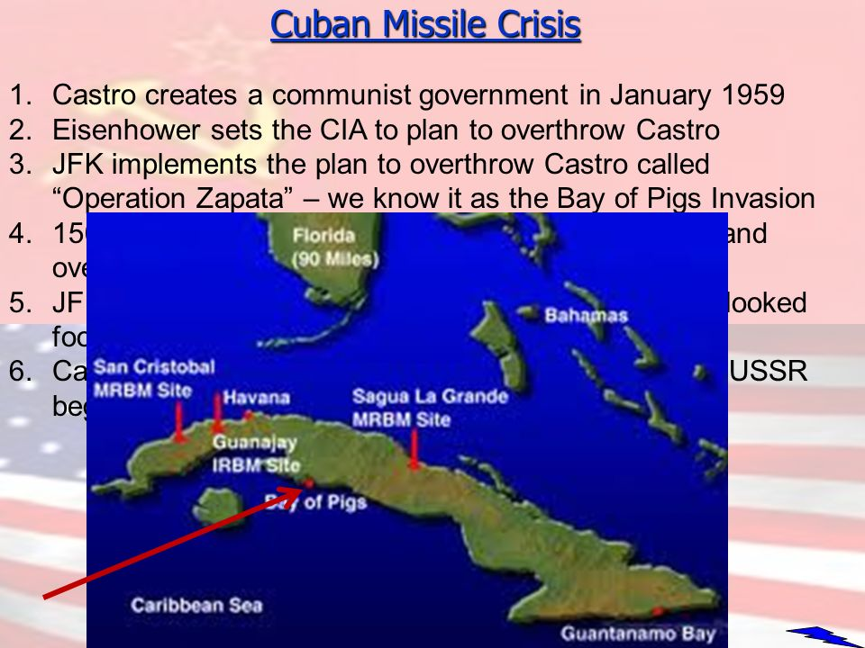 the communist rule in cuba and the impending missile crisis Students investigate outcomes of the cuban missile crisis by using primary  13 days: president kennedy and the cuban missile crisis  the communist leader of .