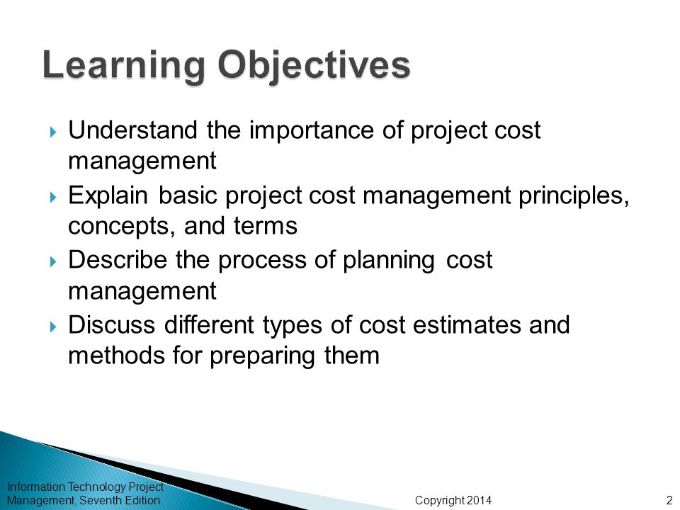 the importance of determining project estimates in construction management Methods of construction cost estimating include unit quantity and total quantity detailed methods as well as appoximate estimates.