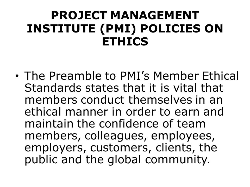 project management ethical issues Free essay: project management issues melwin fernandes 200083225 ethics and other management issues (cis 485) duncan jeffries project management issues what.